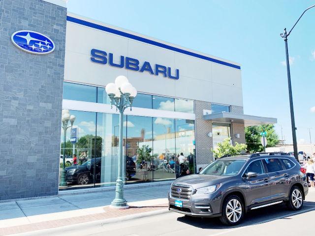 exterior photo of Lithia Subaru of Great Falls